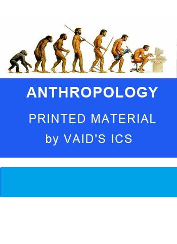 ANTHROPOLOGY vaid sir Printed material