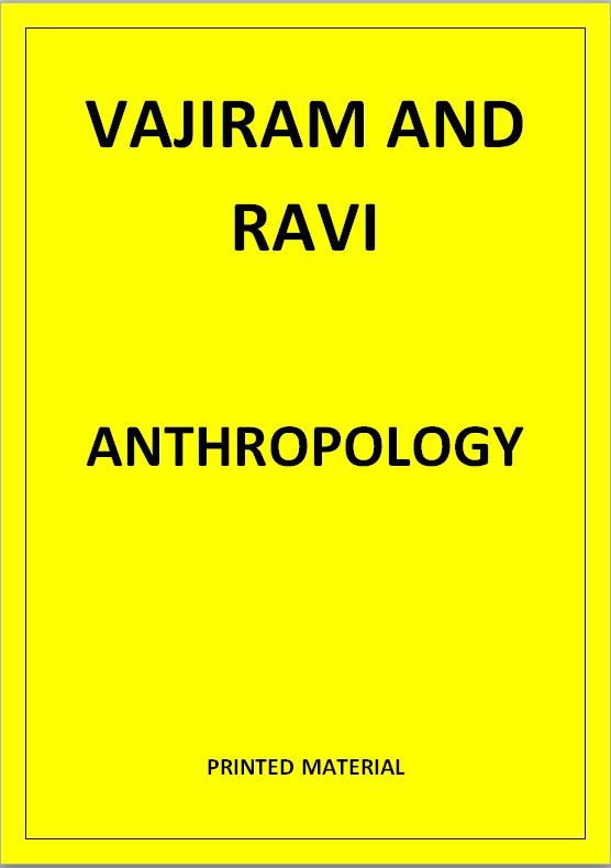 anthropology-vajiram-and-ravi-printed-notes