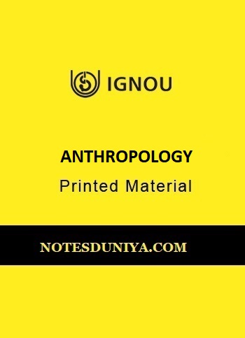ignou-anthropology-printed-material