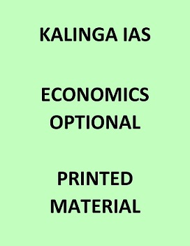 Kalinga IAS Economics optional printed notes