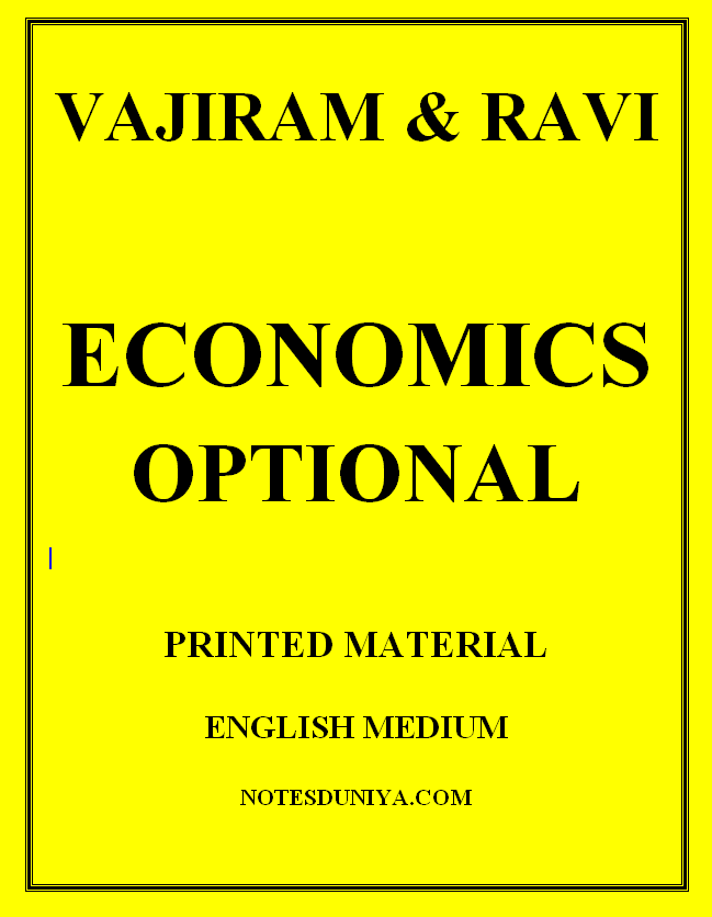 vajiram-and-ravi-economics-optional-english--printed-material
