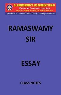 ESSAY Ramaswamy sir classnotes