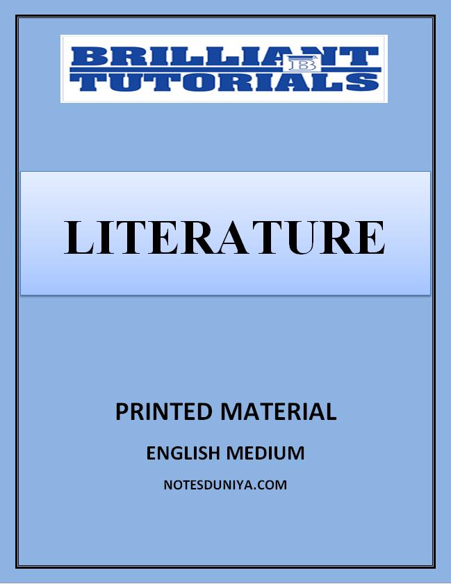 literature-printed-notes-brilliant-coaching