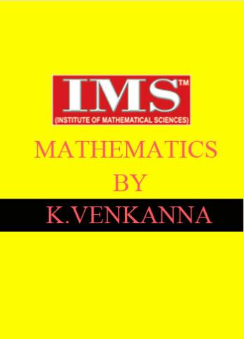 mathematics-k-venkanna-sir-ims