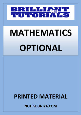 mathematics-optional-brilliant-tutorials