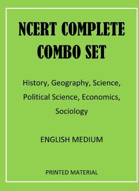 NCERT Complete Combo Set English MEDIUM
