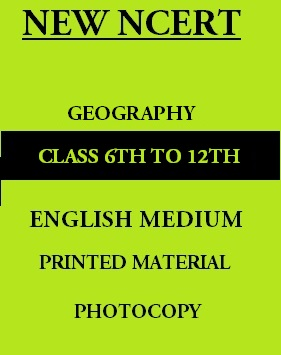 new-ncert-geography-6th-to-12th-english-medium