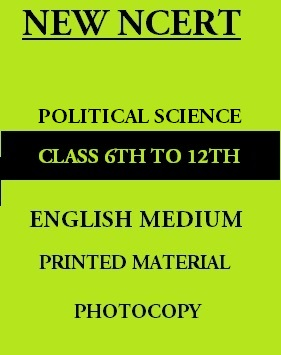 new-ncert-political-science-6th-to-12th-english-medium