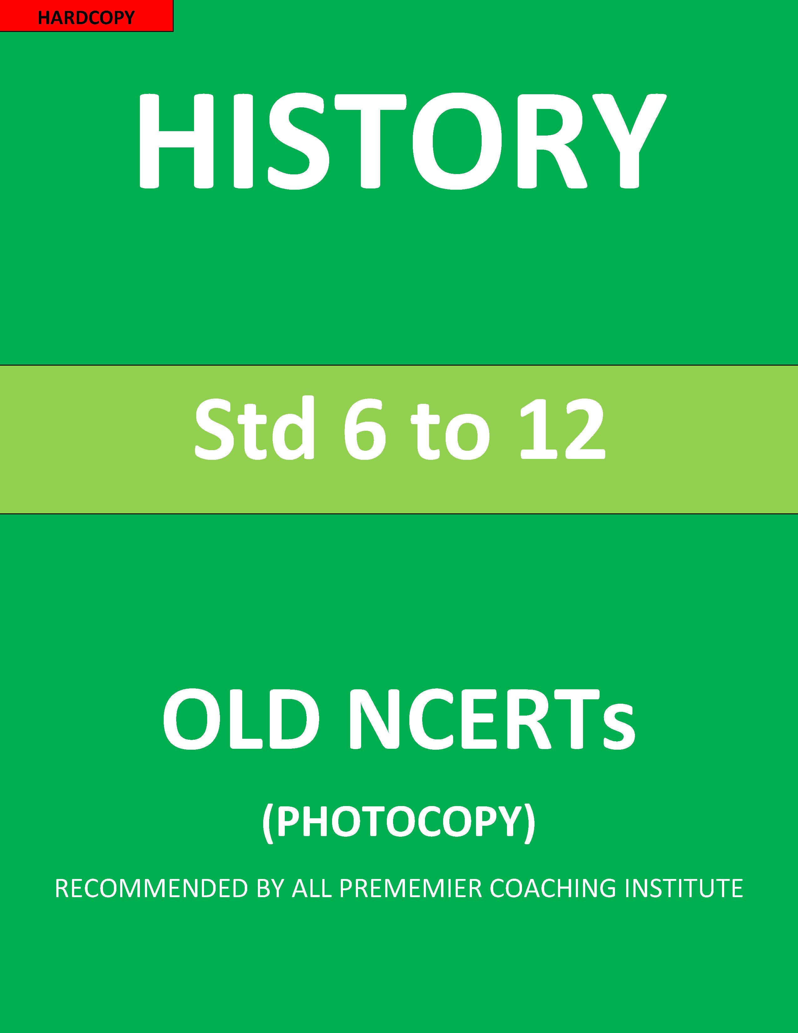 old-ncert-6th-to-12th-history-printed-english-medium