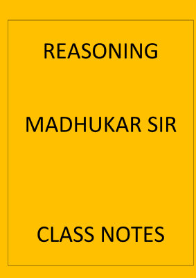 reasoning-madhukar-sir-class-notes-english-medium