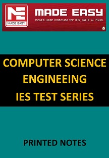 COMPUTER SCIENCE ENGINEERING IES MADE EASY TEST SERIES