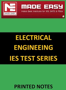 ELECTRICAL ENGINEERING IES MADE EASY TEST SERIES