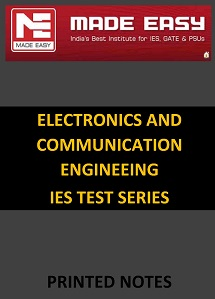 ELECTRONICS AND COMMUNICATION ENGINEERING IES MADE EASY TEST SERIES