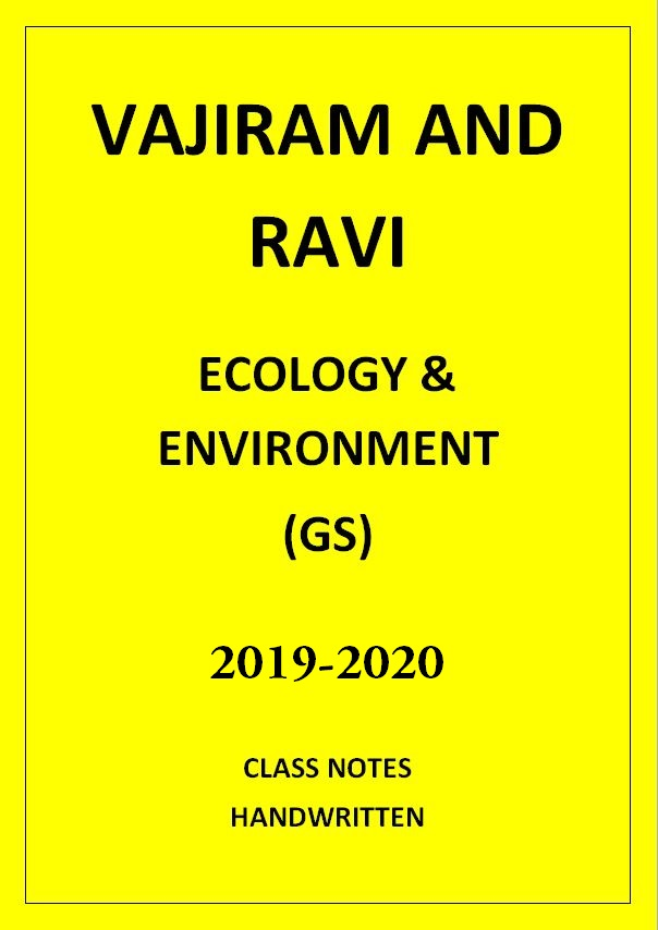 ecology-and-environment-vajiram-and-ravi-class-notes