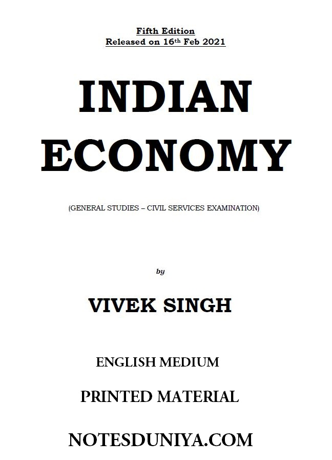 indian-economy-by-vivek-singh-gs-2021-english-printed-material
