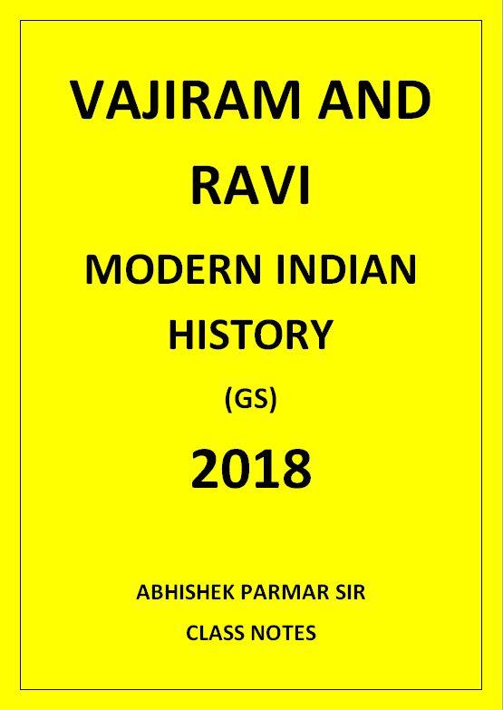 modern-indian-history-vajiram-and-ravi-abhishek-parmar-class-notes